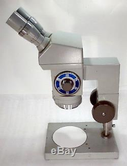 Stereomikroskop Stemi Zeiss Jena Technival Vergr. 6,3 40x Plan-Okulare