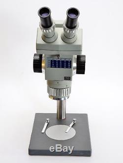 Stereomikroskop Technival 2 Carl Zeiss Jena Stereolupe m. PK8x (18) (4801)