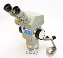Stereomikroskop Technival 2 Carl Zeiss Jena Stereolupe ohne Stativ (3658)