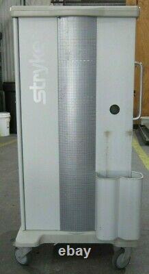 Stryker Standard Endoscopy Medical Equipment Cart WithGlass Doors Mod 240-099-011
