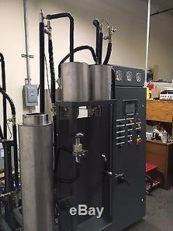 Supercritical CO2 extractor 5L, 5800 psi, 1.2L/min HIGH FLOW 45-minute extracts