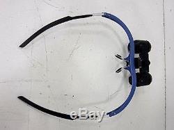 SurgiTel Loupes micro EVK 350 magnification on Blue Oakley Type Frames / Case+