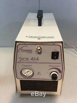Timeter PCS 414 Air Compressor #4, T14614, Medical, Healthcare, Hospital Equip