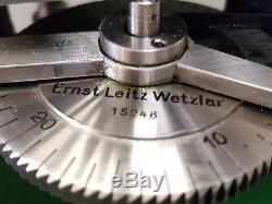 Tisch Mikrotom von Ernst Leitz Wetzlar
