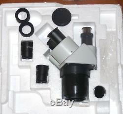 Trino Stereomikroskop Stereolupe Stemi Präparierlupe Vergr. 20x+40x (kein Zoom)