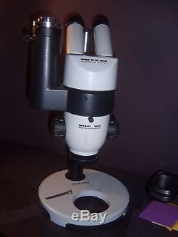 Trinocular Stereo Microscope Wild Heerbrugg M3 Widefield SWITZERLAND R306 PF