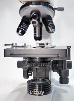Trinokulares Arzt Labor Mikroskop 40-1000x Hellfeld (Option Dunkelfeld, Pol)