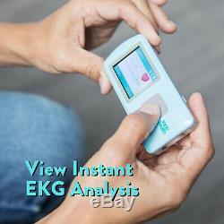USED EKGraph Portable ECG Heart Rate Monitor SonoHealth Kardia Mobile Alivecor