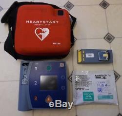 Uk Seller Philips Heartstart Fr2+ Aed Defib Battery+ New 2020 Pads