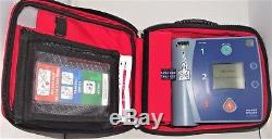 Uk Seller Philips Heartstart Fr2+ Defib Aed With Battery + New 2018 Pads