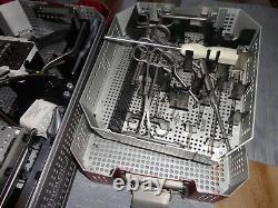 Used Wright Medical Ortholoc 2 & Ortholoc 3Di Trays, etc, tools & Equipment