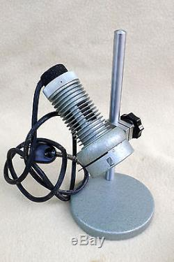 VTG Carl Zeiss Phase Contrast Compound Microscope with Case Light Source Extras
