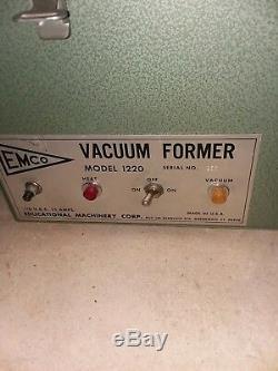 Vacuum former emco 1220
