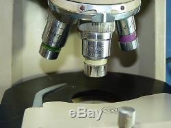 Vickers Binocular Microscope With Illuminating Light & Power Control