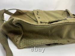 WW2 Combat Medic Equipment Pouch Medical Green Canvas US Fieldgear Lace Strap