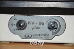 Wassermann Rüttler KV 26 Plus