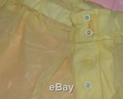 Windelhose PVC Gummihose Firma Sons Baby-Chic Finsterwalde Gr. L Gelb