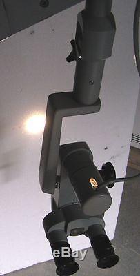 ZEISS OP Mikroskop OPMI 9 m. Wandhalterung HNO
