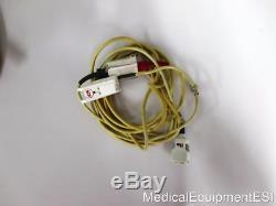 ZOLL M Series BiPhasic 3 lead ECG SpO2 NIBP Adult Pads AED ALS Pacing Rough
