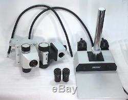 Zeiss Jena Stereomikroskop GSZ Stemi Stereolupe / Vergrößerung Zoom 10x 50x