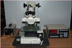 Zeiss Messmikroskop DIC Messtisch Microscope