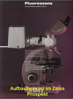 Zeiss Mikroskop Zwischentubus Auflichtkondensor Fluoreszenz Hellfeld Dunkelfeld