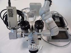 Zeiss Opmi MD Dual Head X/Y Surgical Microscope with Camera NO RESERVE AUCTION