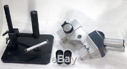 Zeiss Stereomikroskop Stemi D + schweres Stativ / Vergrößerung 10x (erweiterbar)