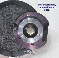 Zeiss West Mikroskop Phako Kondensor apl. 1,4 Phasenkontrast Hellfeld Dunkelfe