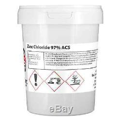 Zinc Chloride Ultrapure 1KG (used in electroplating) Professional Seller