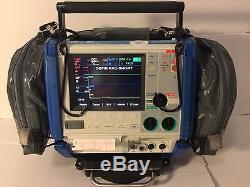 Zoll M Series CCT 12 Lead SpO2 ETCO2 NIBP Pacing Analyze Capnostat T1-T2-P1-P2