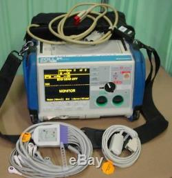 Zoll M Series Monitor 12 Lead BiPhasic ECG SpO2 Pacing aed Analyze EtCO2 co2